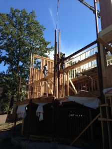 Structural framing work