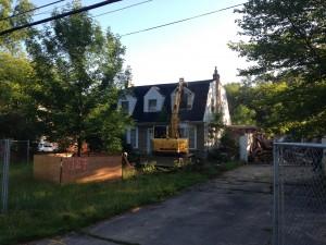 Before demolition