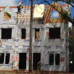 Split house new construction