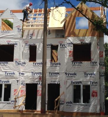 Split house new construction